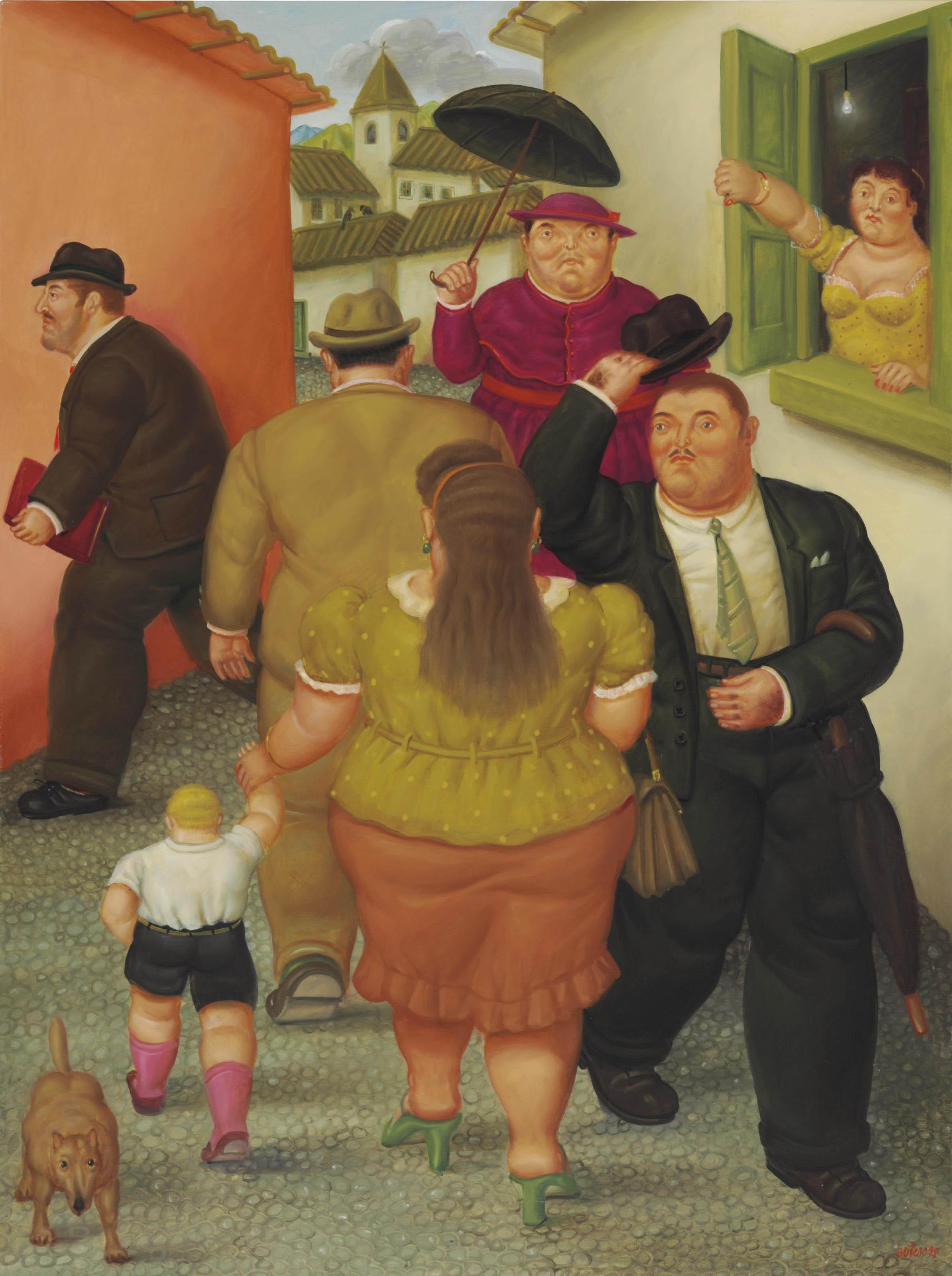 Fernando Botero (Colombian b. 1932)