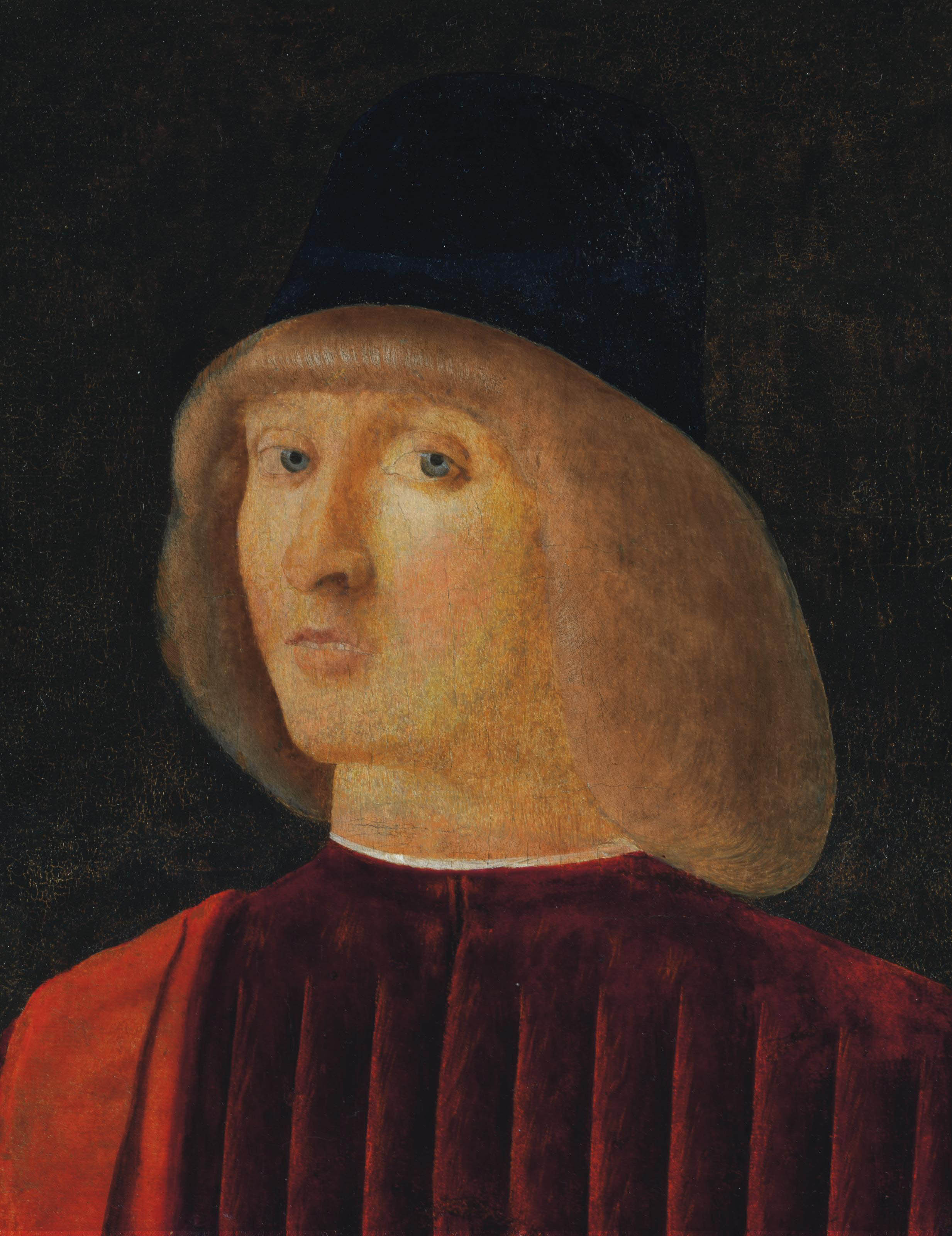 Portrait of a man, bust-length