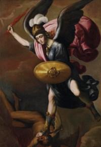 The Archangel Michael vanquishing the Devil
