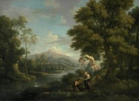 Landscape with the Communion of Saint Mary of Egypt