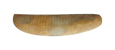 AN EGYPTIAN FLINT BLADE