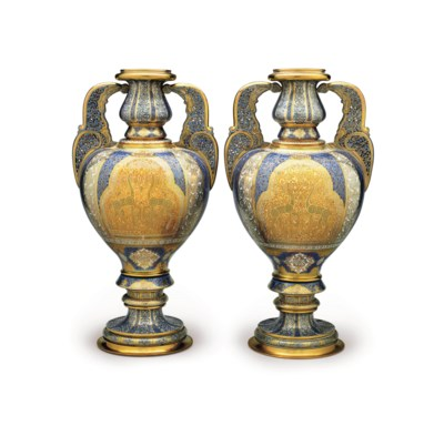 A PAIR OF SEVRES (LOUIS-PHILIP
