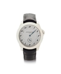 Ludovic Ballouard. A Platinum Wristwatch With Unusual Dial