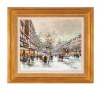 Paris, Boulevard des Italiens