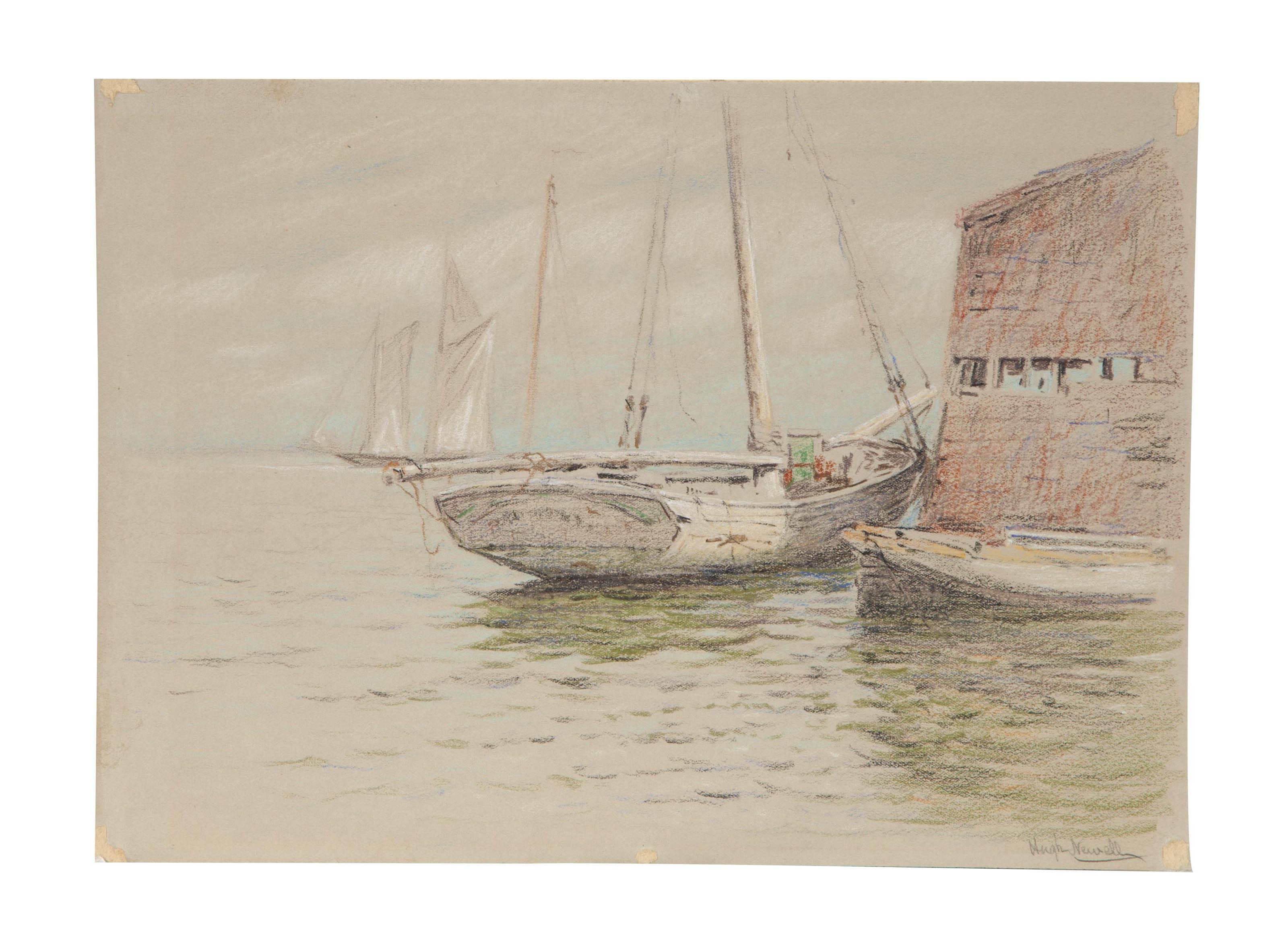 Sailing boat at Arthur Pier