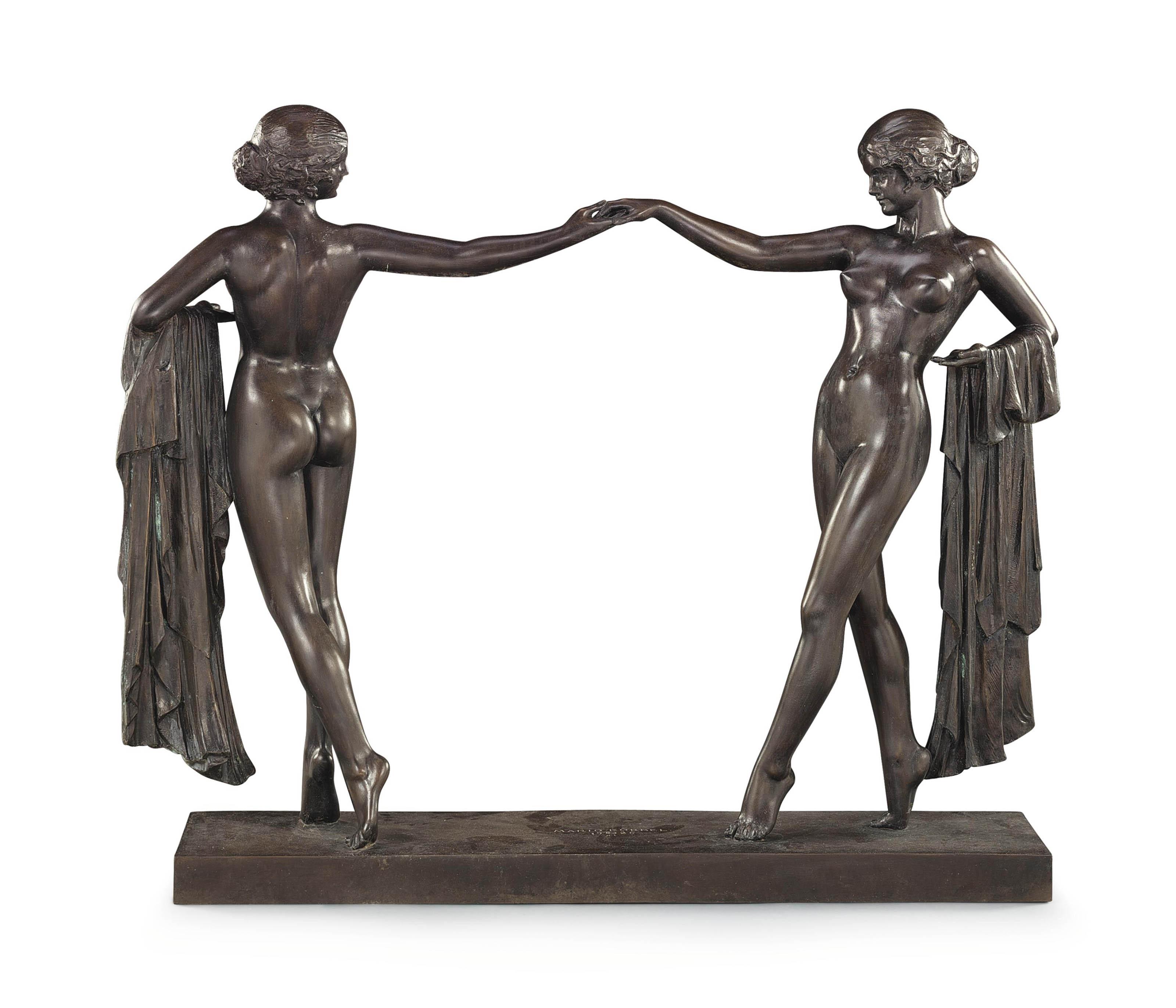 'Andante' (Dancing Girls)