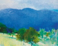 Blue Hills and Cherry Trees II