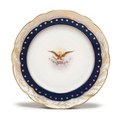 A BREAKFAST PLATE FROM A STATE