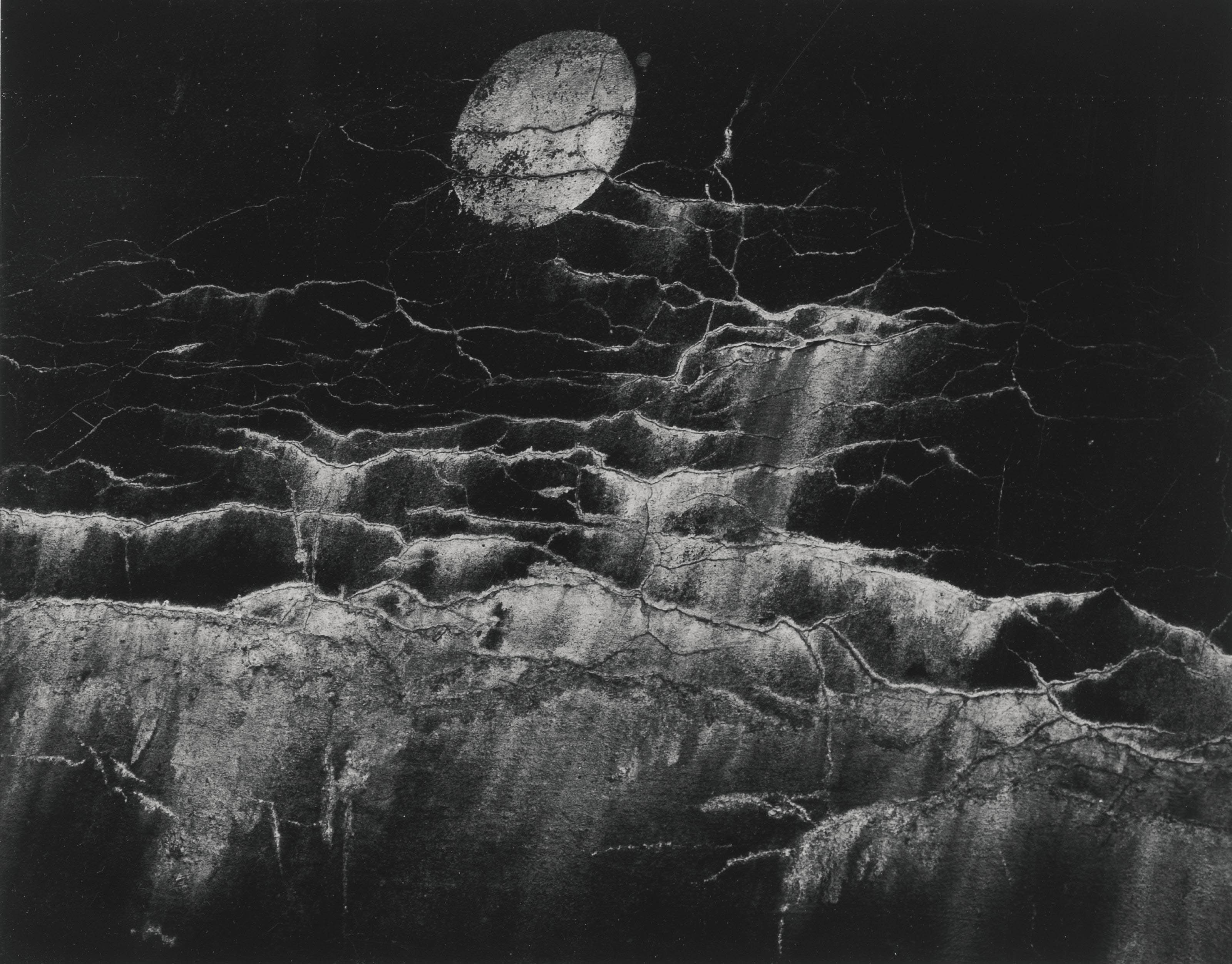 Moon and Wall Encrustations, 1964