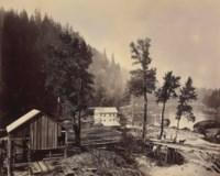 Eagle Creek Sawmill, Cascades of the Columbia, 1867