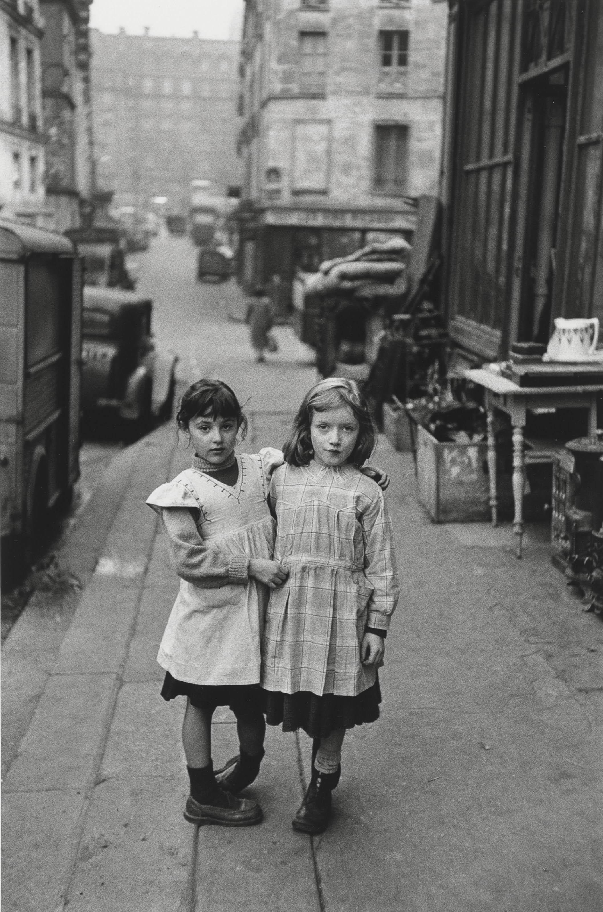 La Place Maubert, Paris 1954