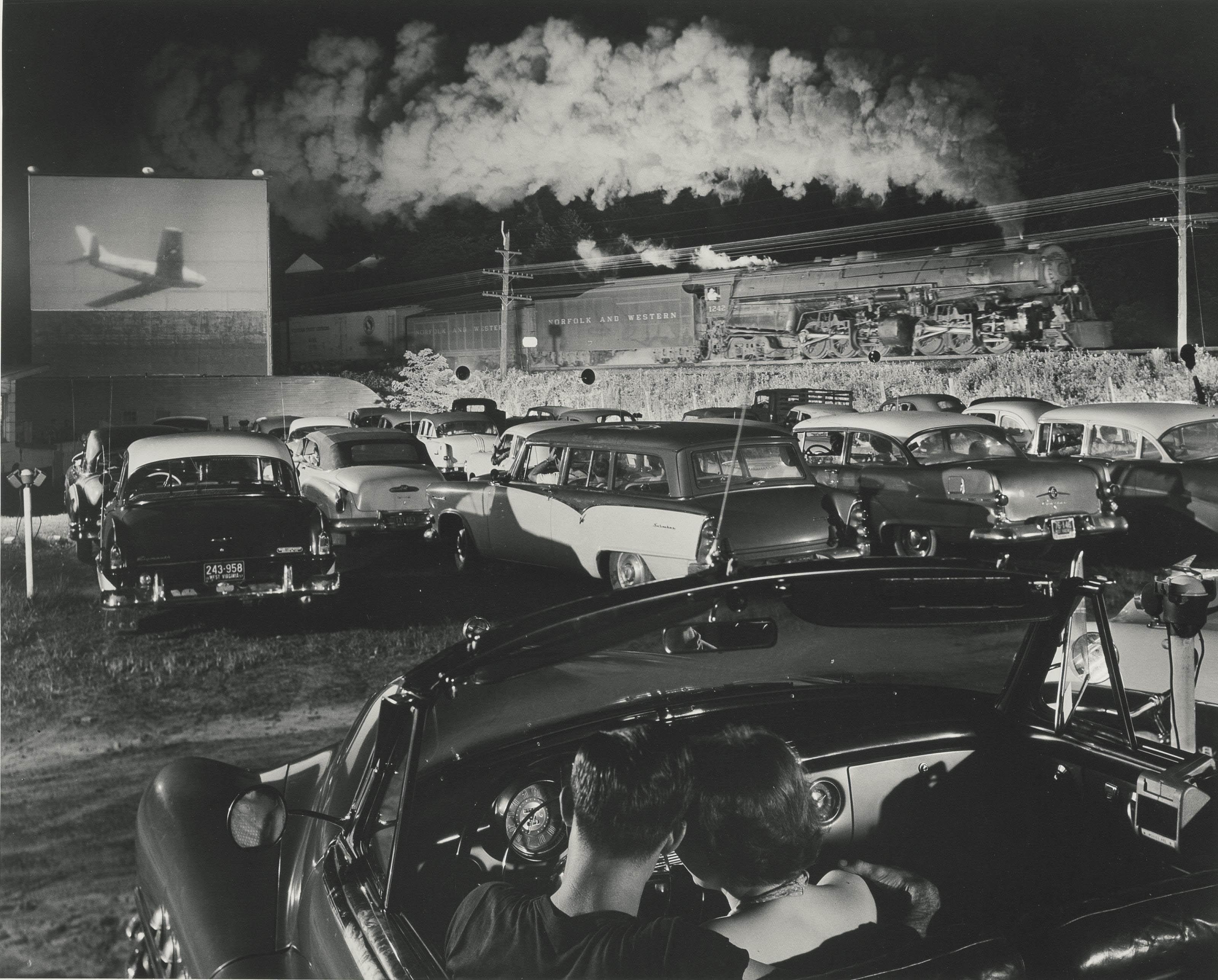 'Hotshot', Eastbound, Iager, West Virginia, 1956