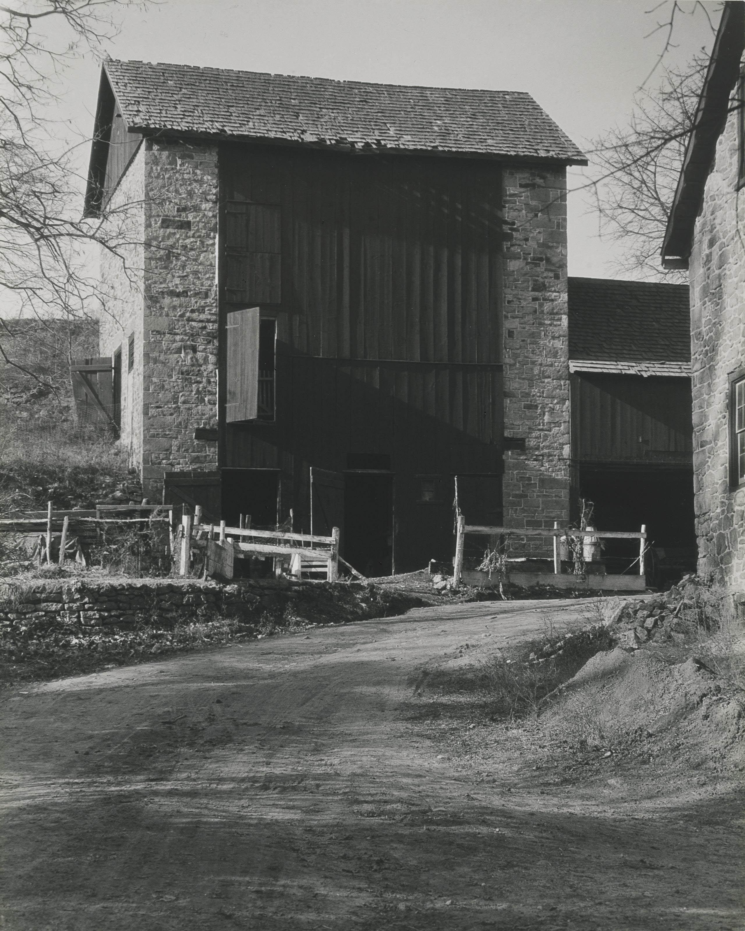 Bucks County Barn, 1915