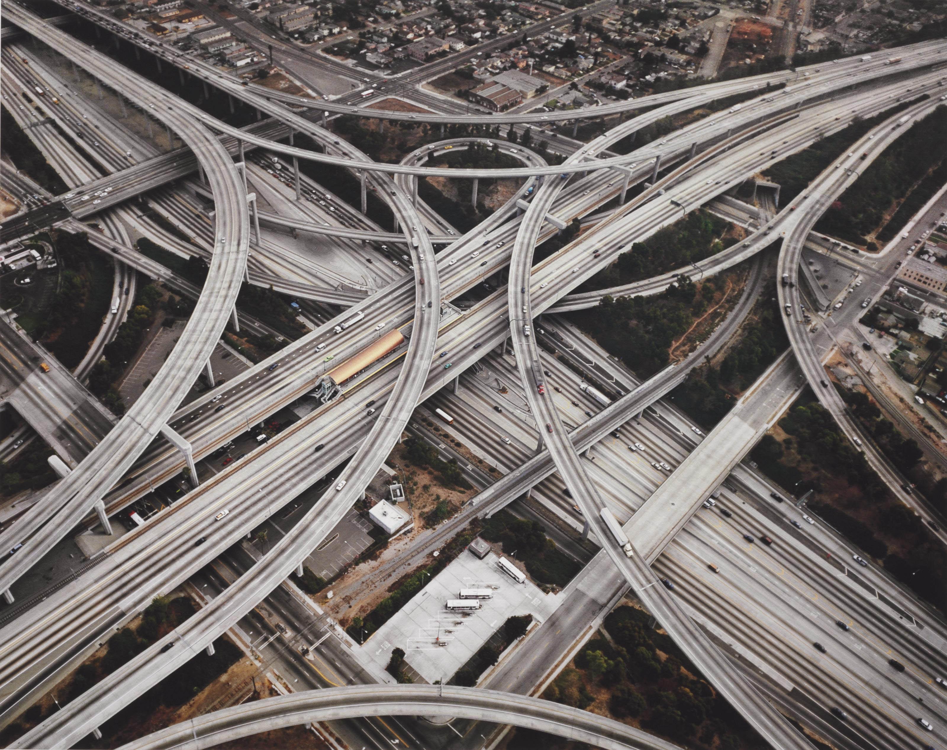 Edward Burtynsky  B  1955    Highway  2  Intersection 105  U0026 110  Los Angeles  Ca  2003