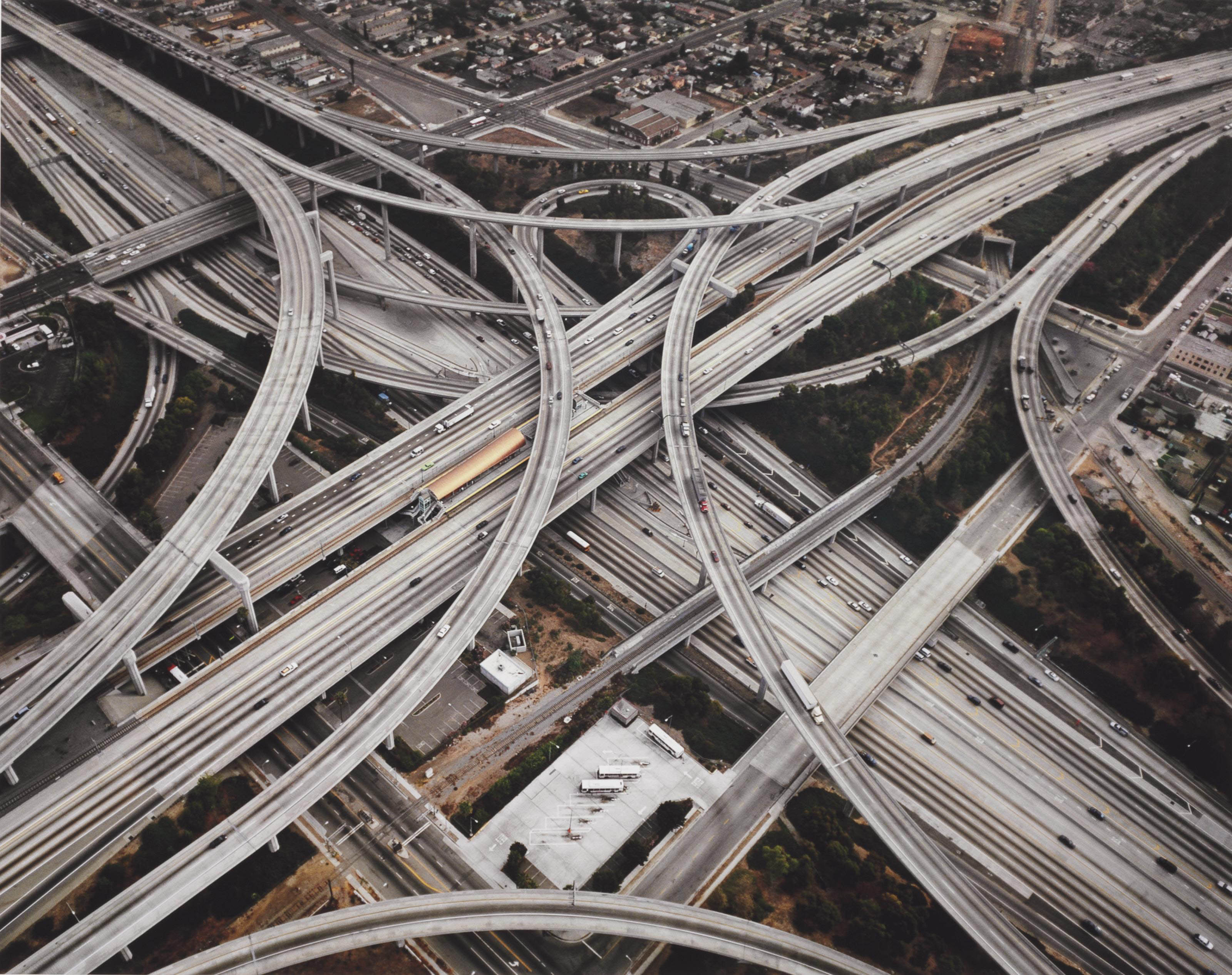 Highway #2, Intersection 105 & 110, Los Angeles, CA, 2003