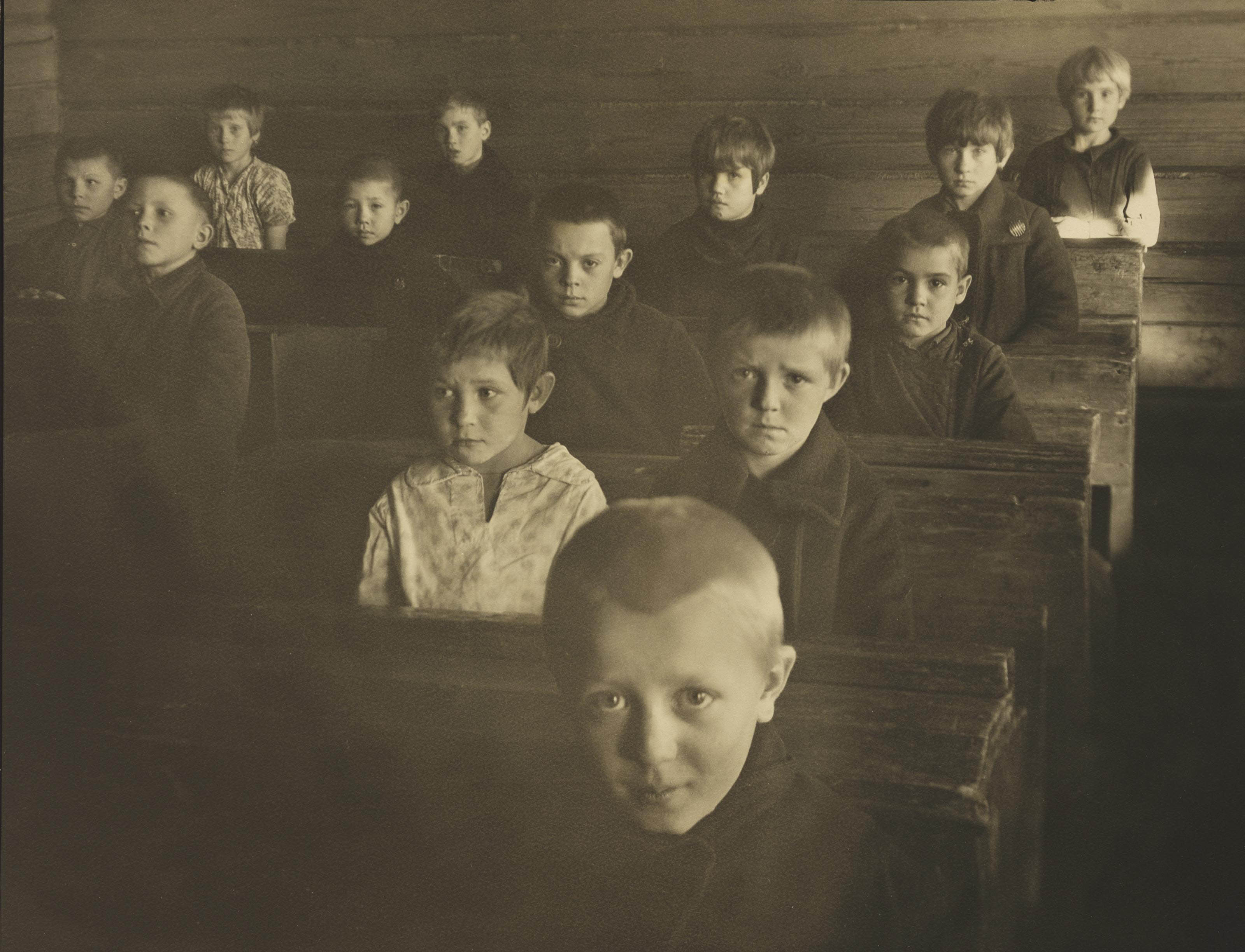 Boys in School 'V', Moscow, U.S.S.R., 1931