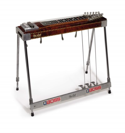 music city manufacturing incorporated a 12 string pedal steel guitar sho bud model 6160. Black Bedroom Furniture Sets. Home Design Ideas