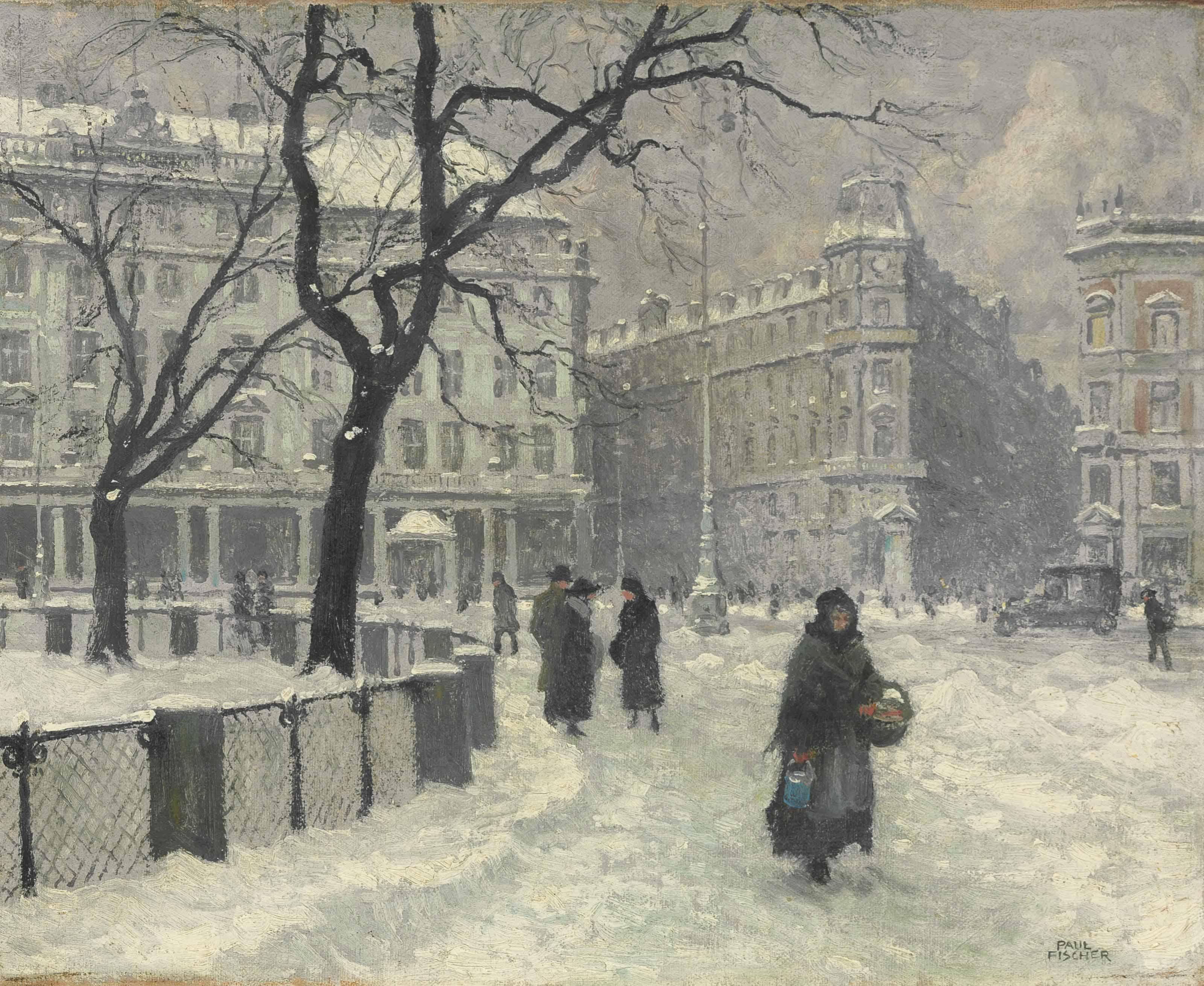 Kongens Nytorv, Copenhagen in Winter