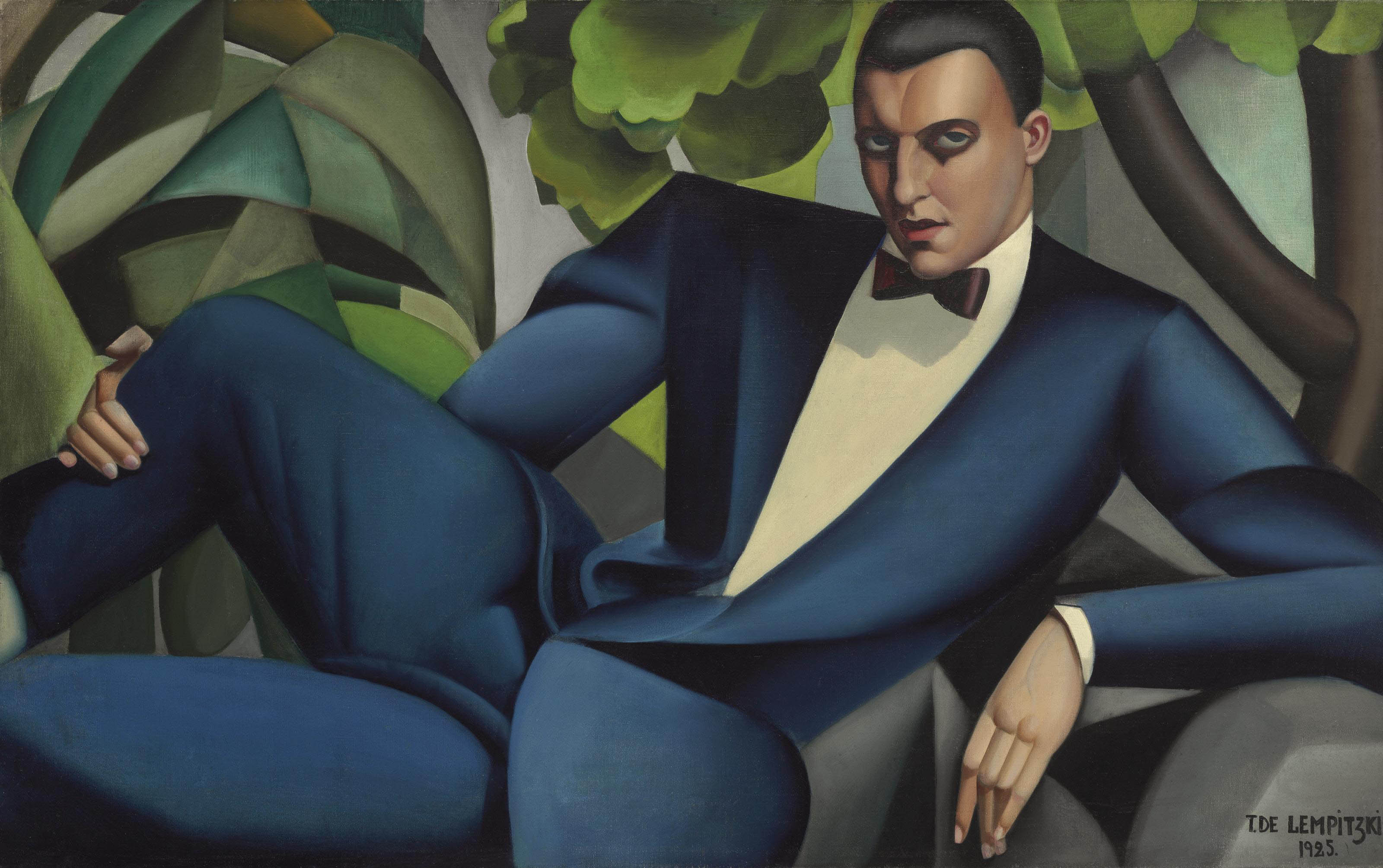 Tamara De Lempicka (1898-1980) | Portrait du marquis d'Afflito | 20th Century, Paintings | Christie's
