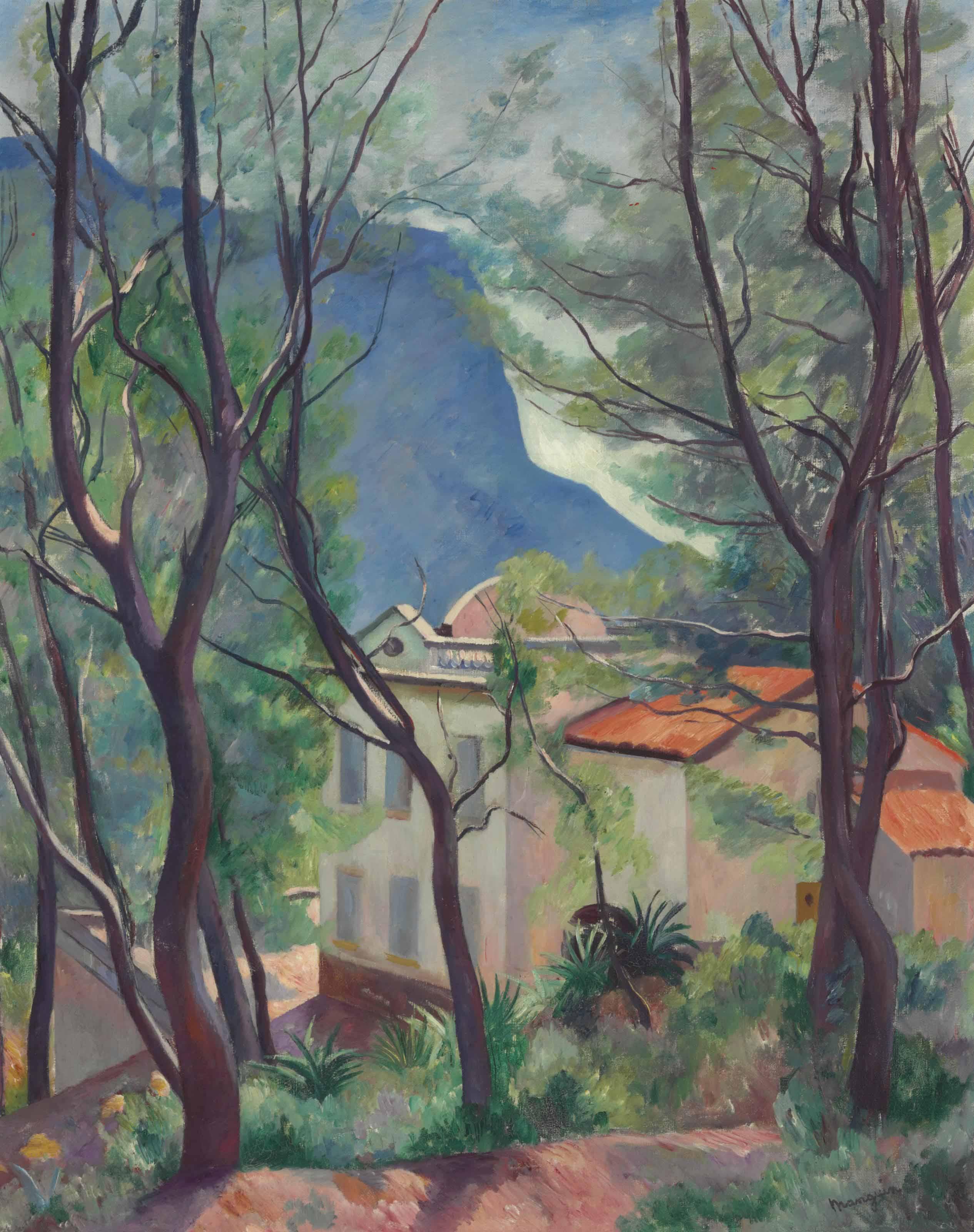 La maison dans les arbres, Villecroze