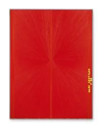 Untitled (Red Butterfly II Yellow MARK GROTJAHN P-08 752)