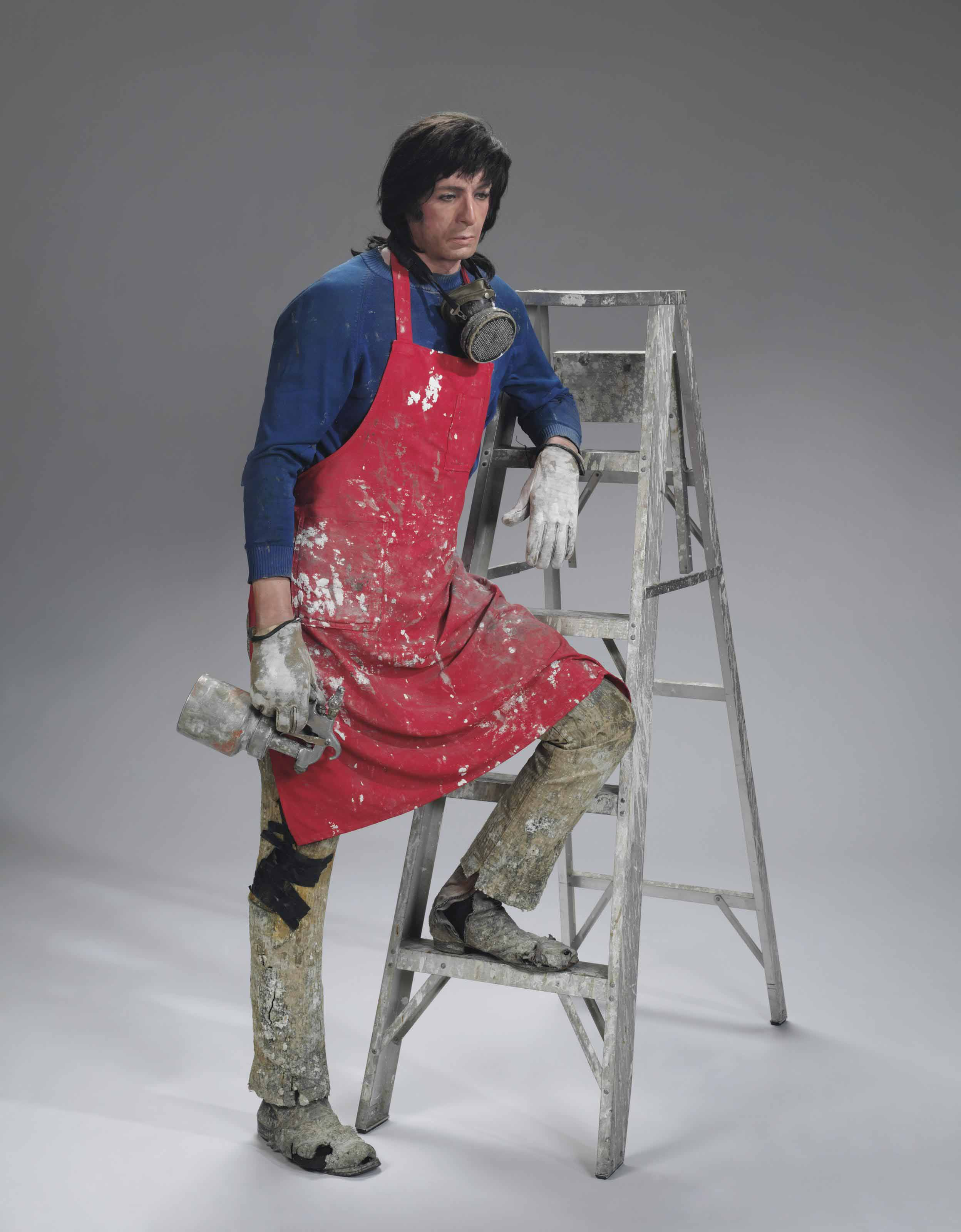 Artist with Ladder