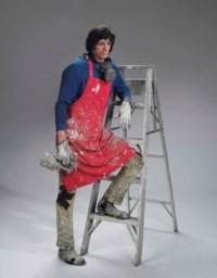 Artist with Ladder