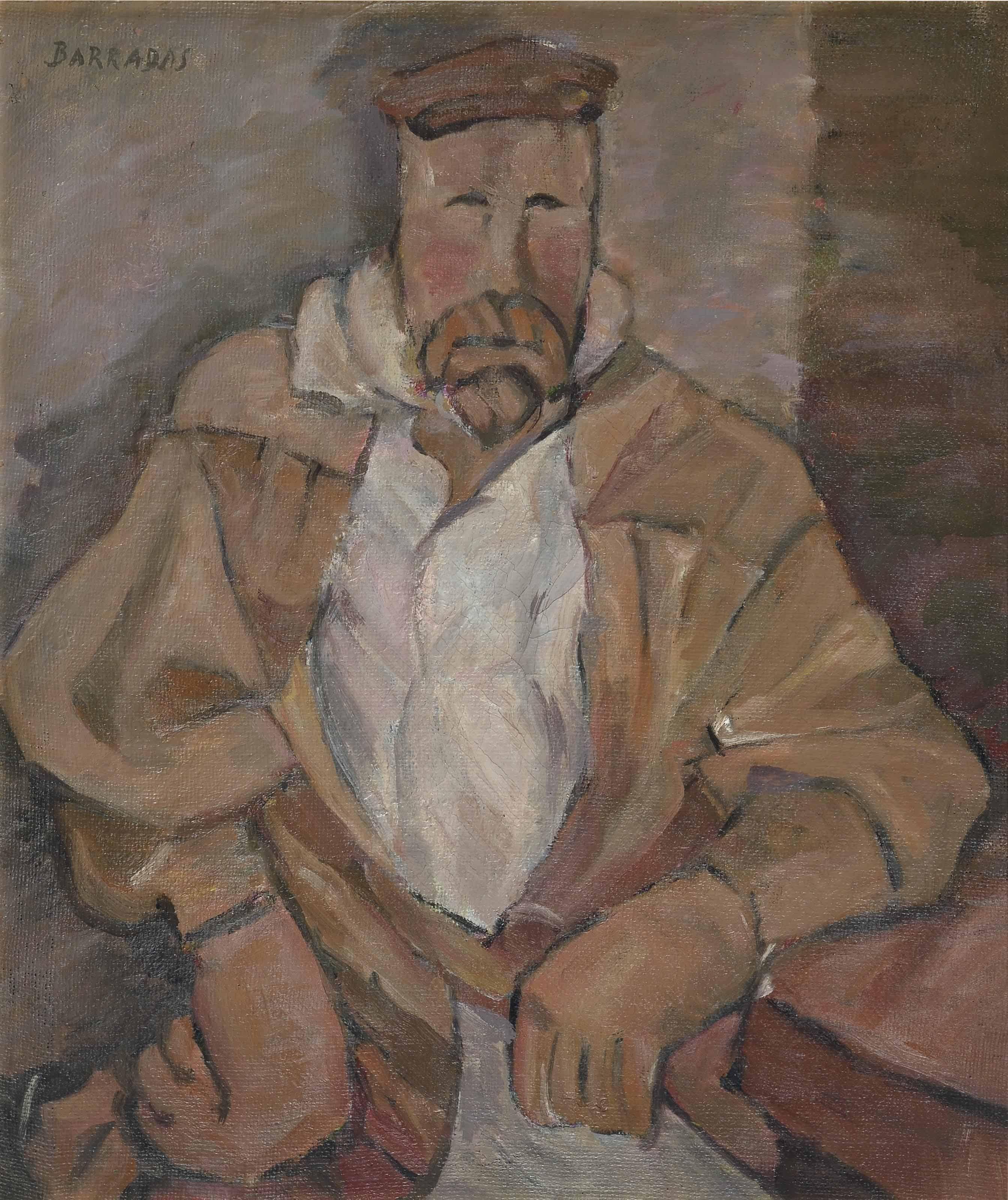 Hombre en la taberna  (from the series Los magníficos)