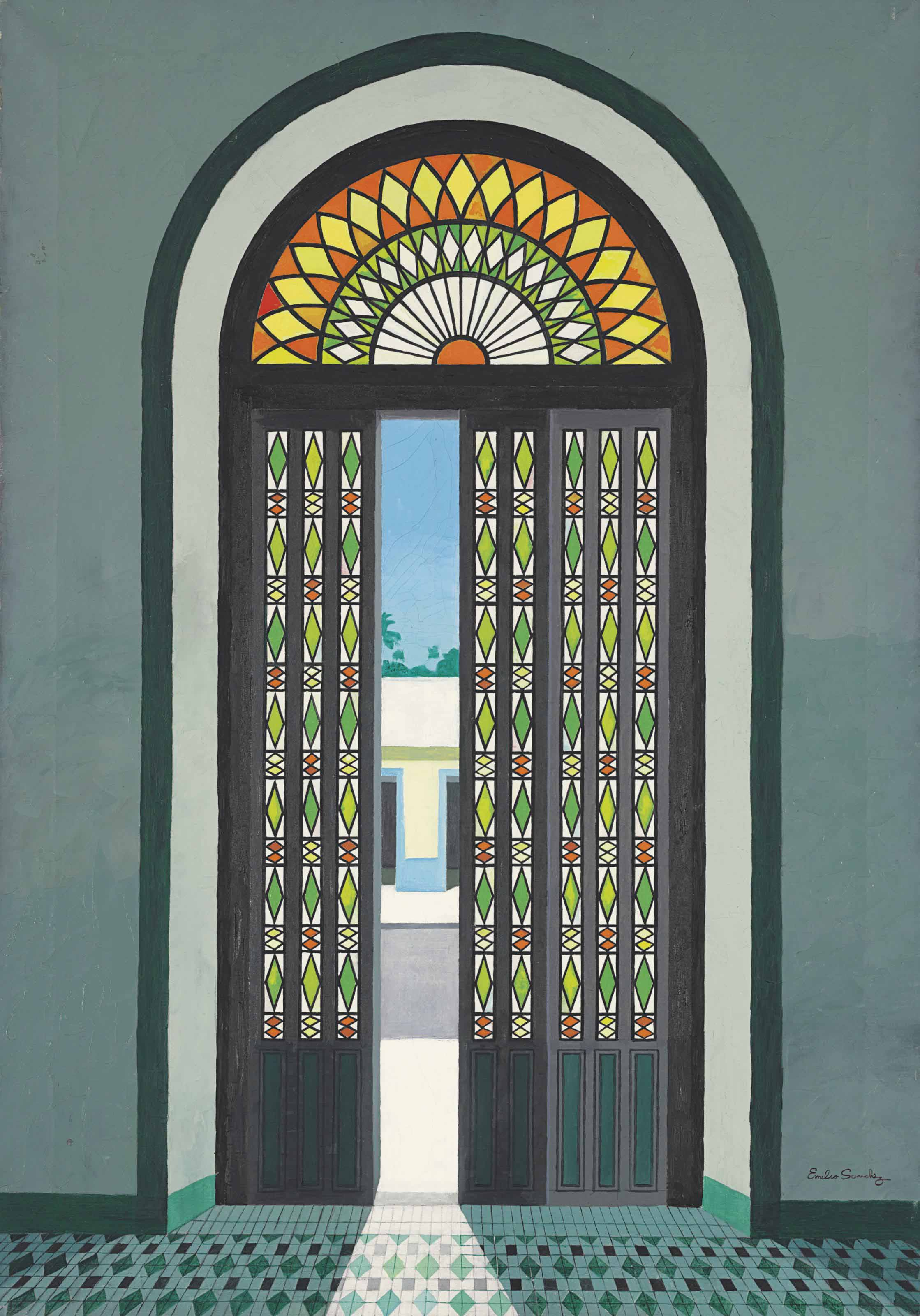 Puerta colonial
