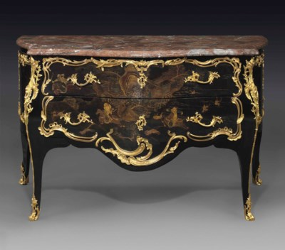 A LOUIS XV ORMOLU-MOUNTED CHIN