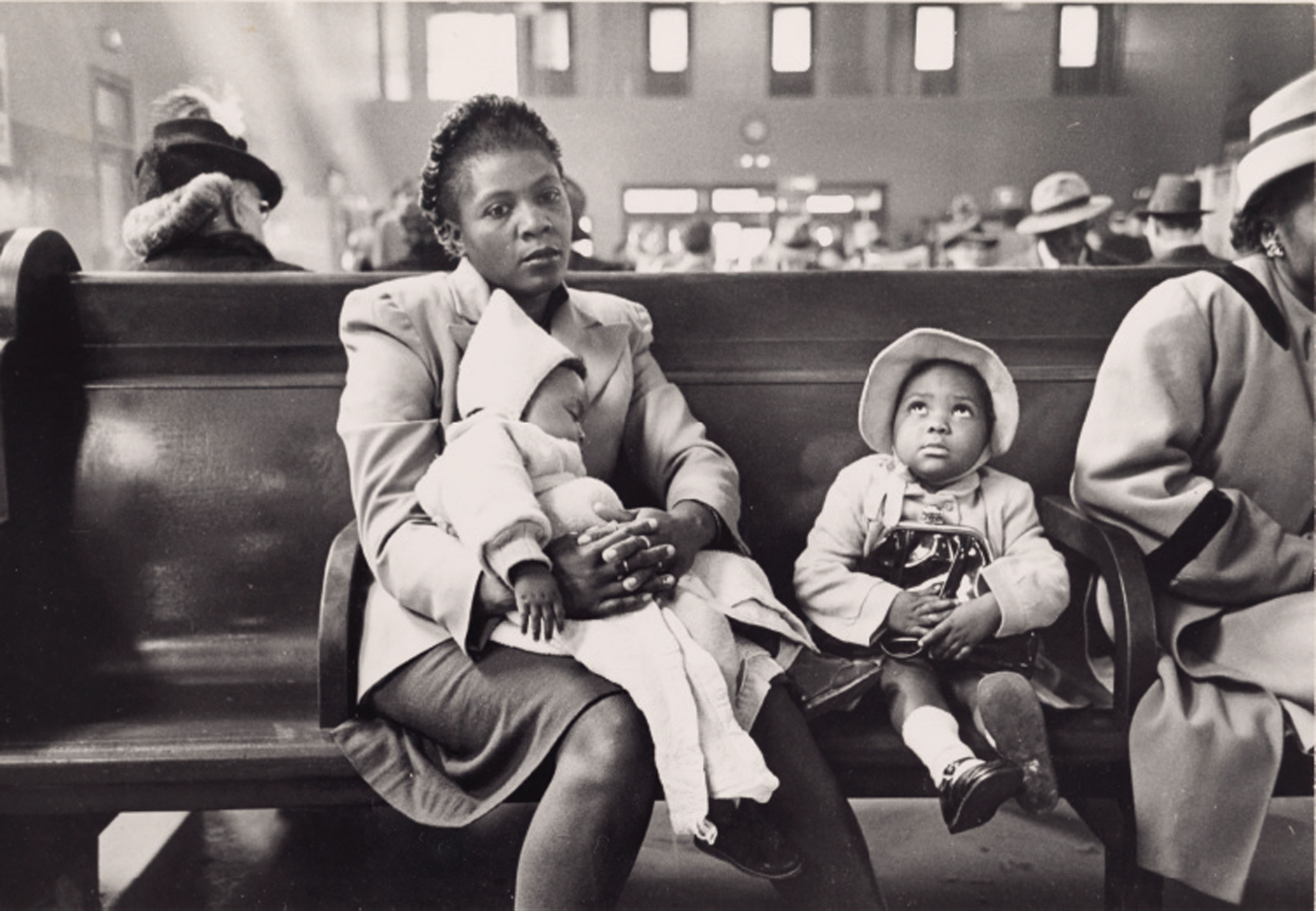 In the Waiting Room, Greyhound Bus Terminal, New York, c. 1949