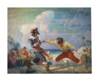 The Duel on the Beach