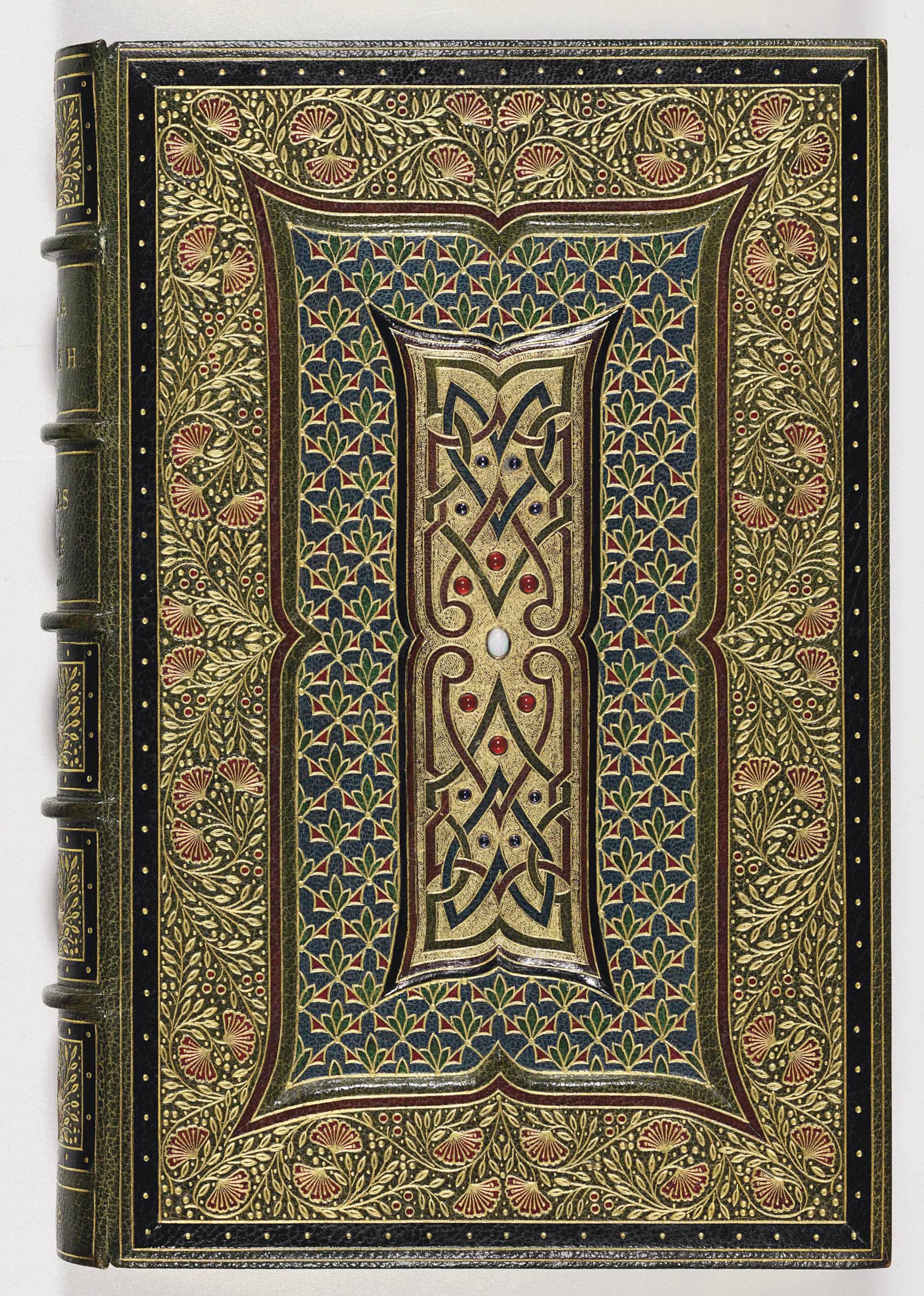 [BINDING--SANGORSKI and SUTCLIFFE, binders].  MOORE, Thomas. Lalla Rookh, an Oriental Romance New Edition.  London: Longman, Brown, Green, and Longmans, 1846.