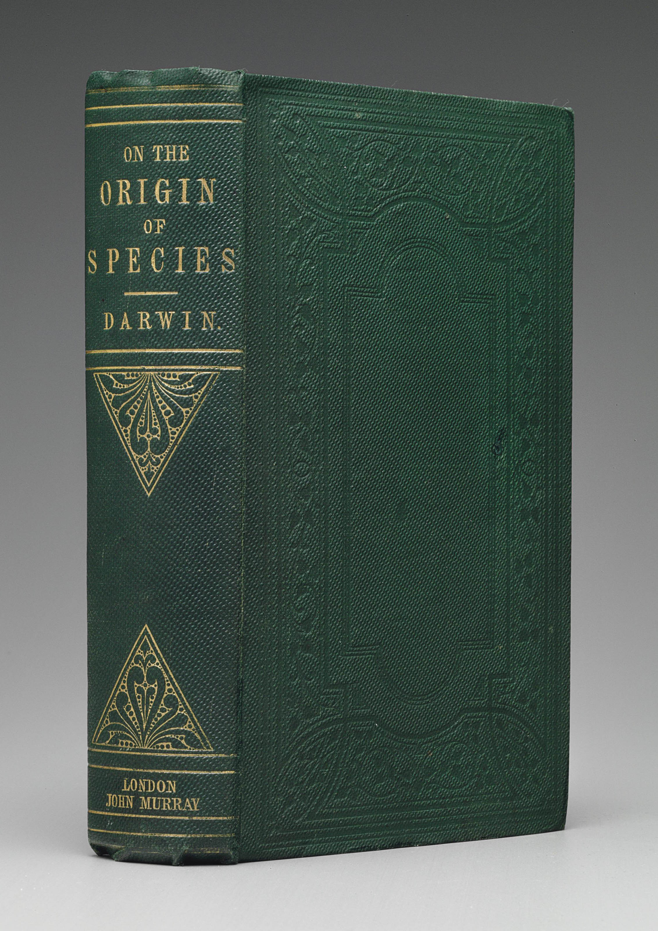 DARWIN, Charles (1809-1882). On the Origin of Species by Means of Natural Selection, or the preservation of favoured races in the struggle for life. London: John Murray, 1859.
