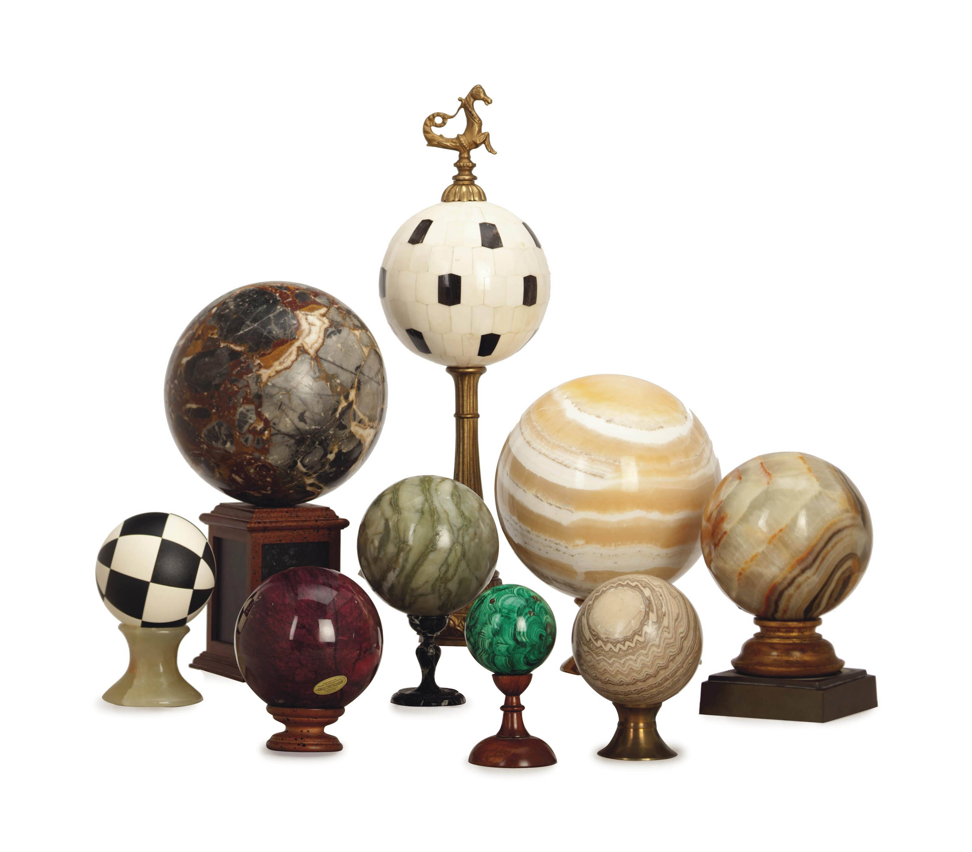 A COLLECTION OF TWENTY SPHERES