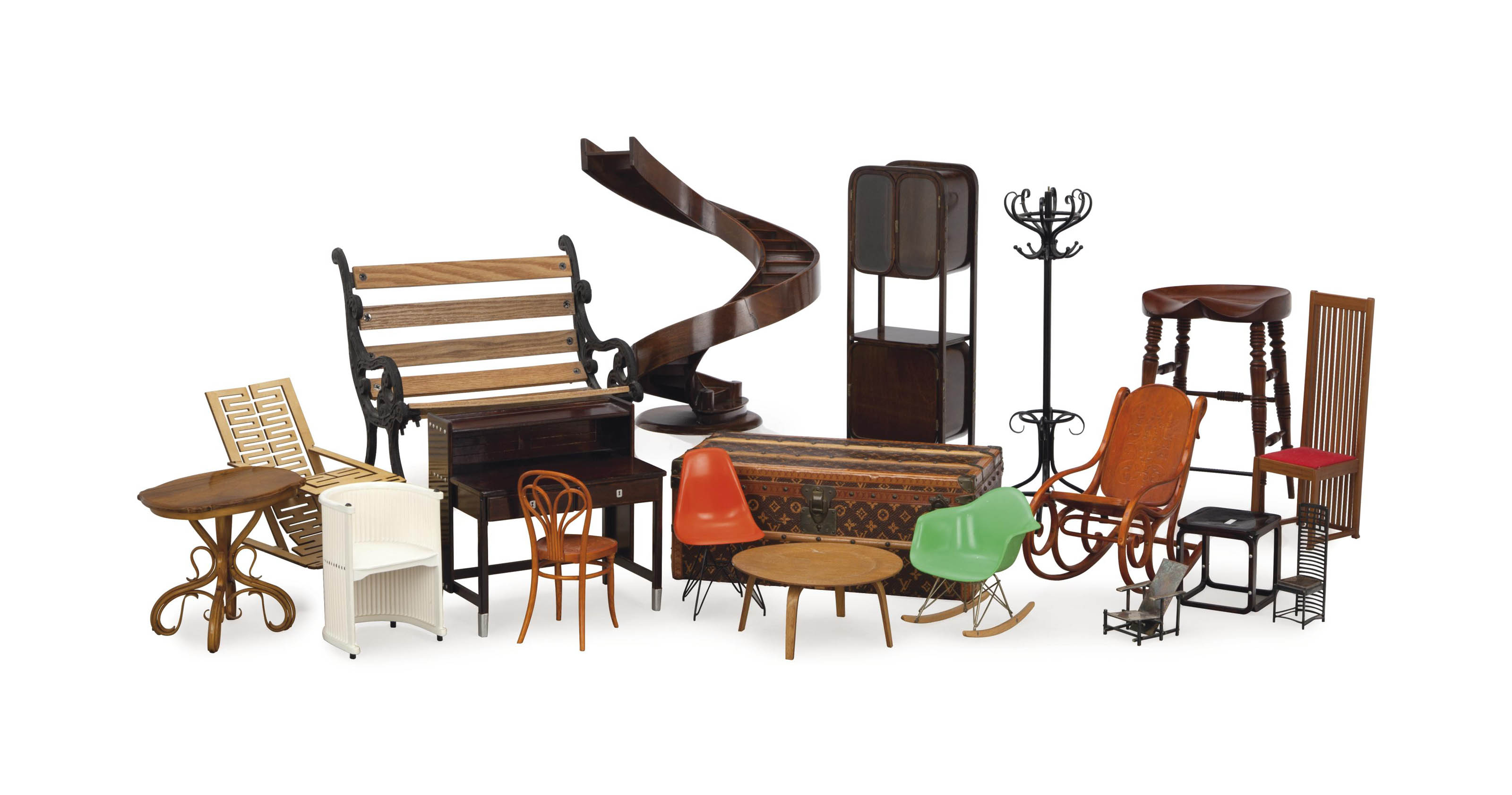 A LARGE COLLECTION OF BENTWOOD