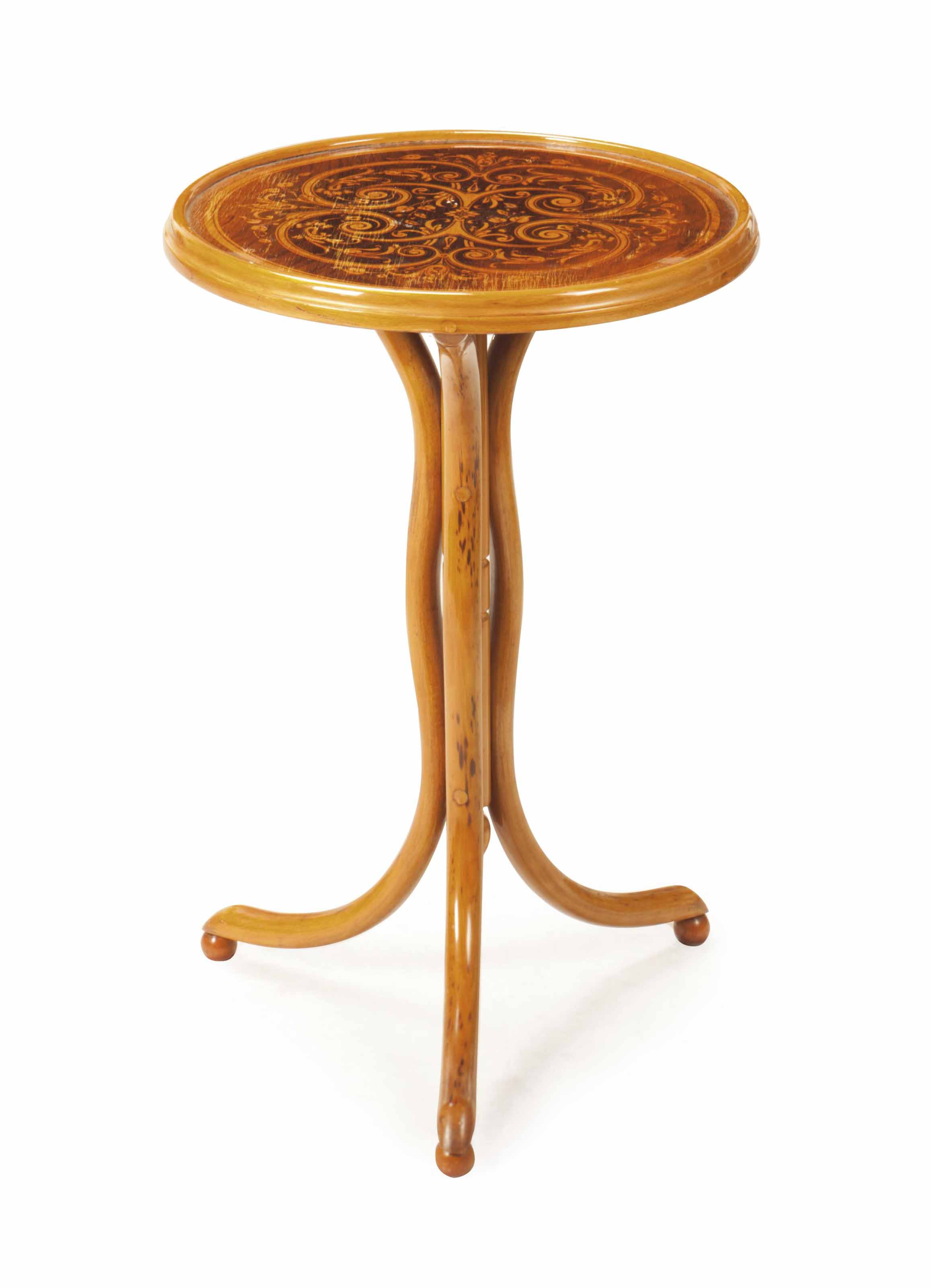 AN AUSTRIAN STAINED BENTWOOD C