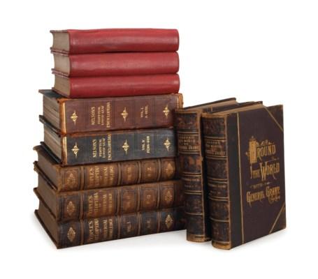A QUANTITY OF BOOKS BOUND IN L