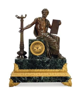 A NAPOLEON III ORMOLU AND PATI