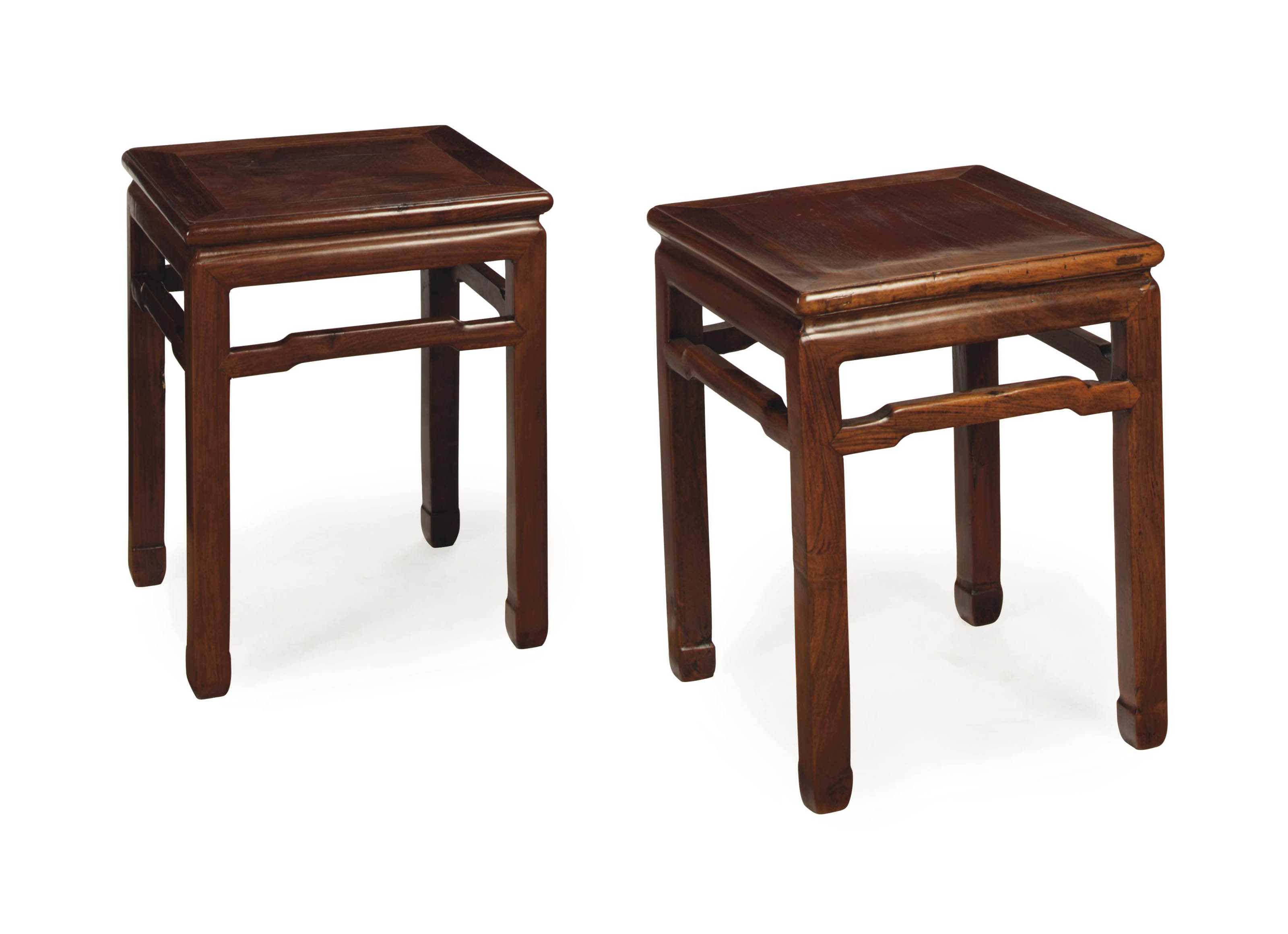 A PAIR OF CHINESE HARDWOOD STO