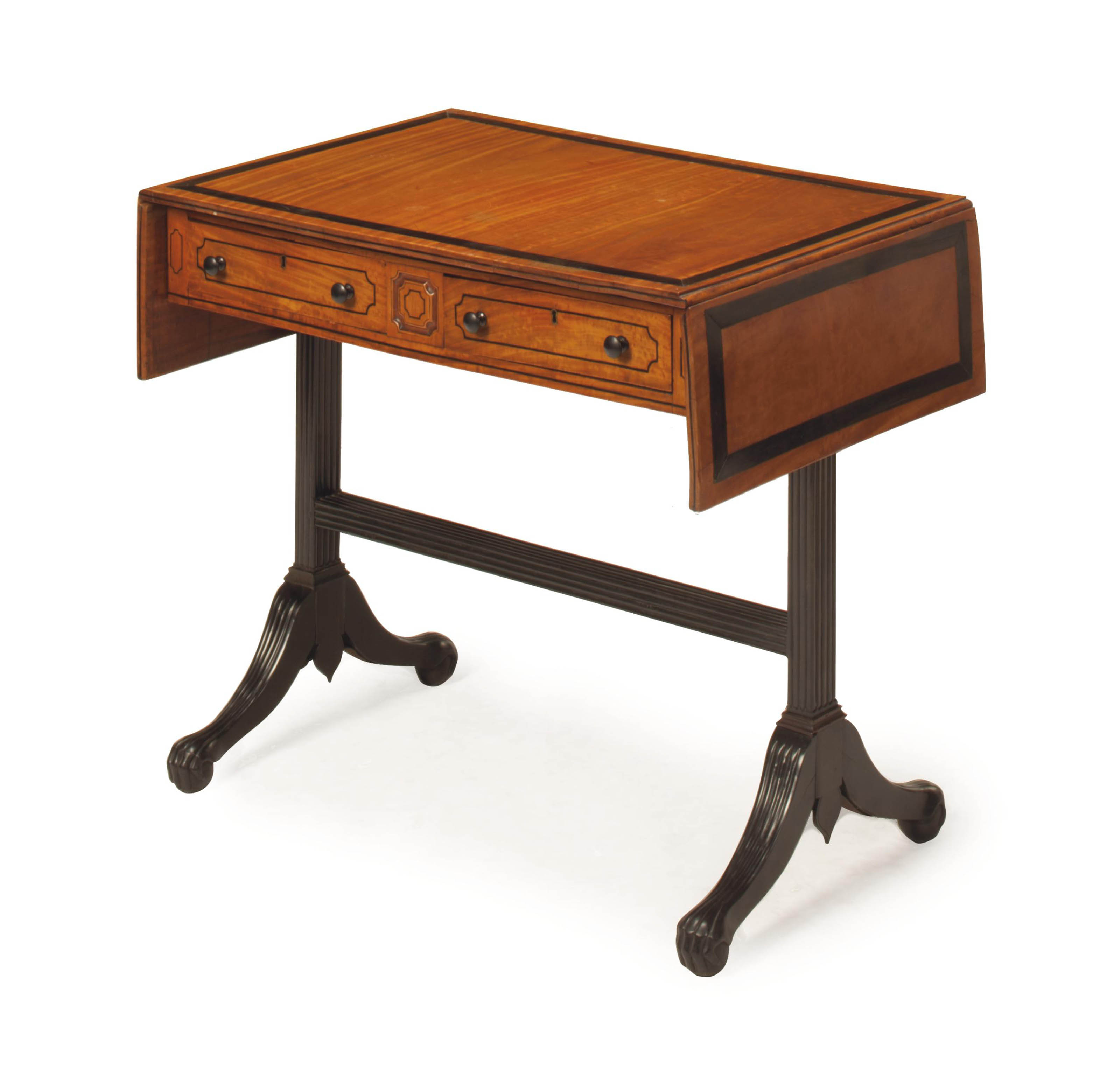 AN ANGLO-INDIAN SATINWOOD AND