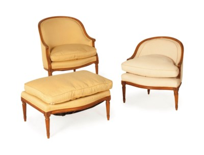 A LOUIS XVI BERGERE AND A LOUI