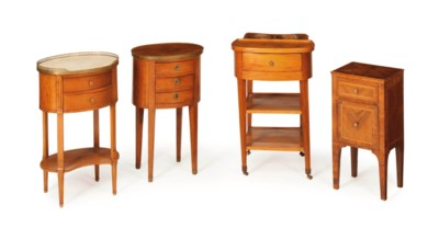 THREE CONTINENTAL SIDE TABLES