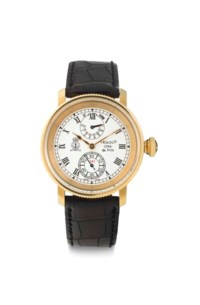 Arnold & Son. An 18k Pink Gold Wristwatch with Power Reserve