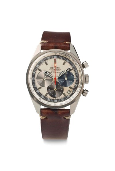 Zenith. A Stainless Steel Auto