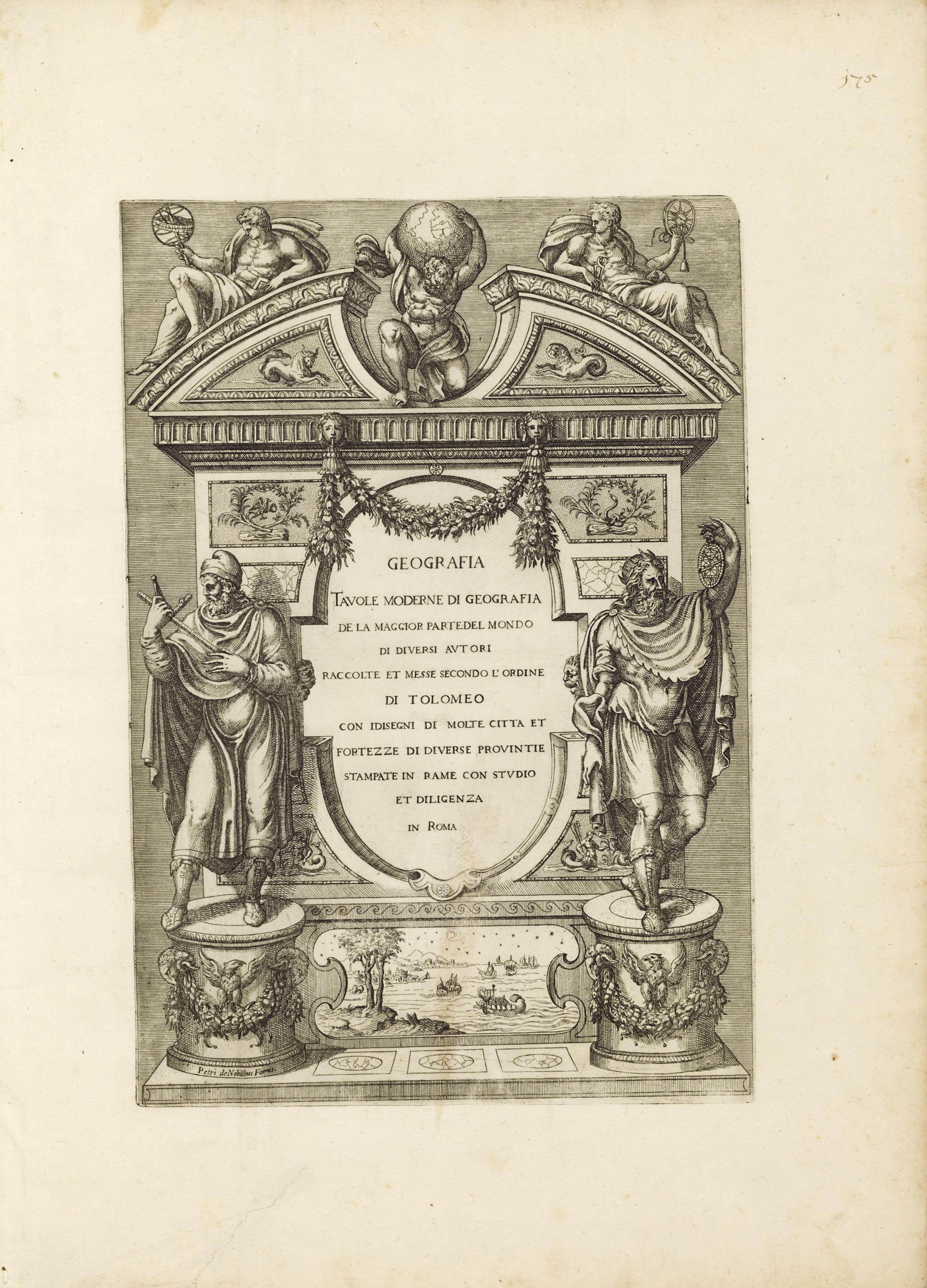 Lafreri antonio and claudio duchetti d for Tavole moderne