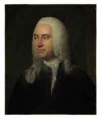 Portrait of the surgeon, André Levret, bust-length in a black coat