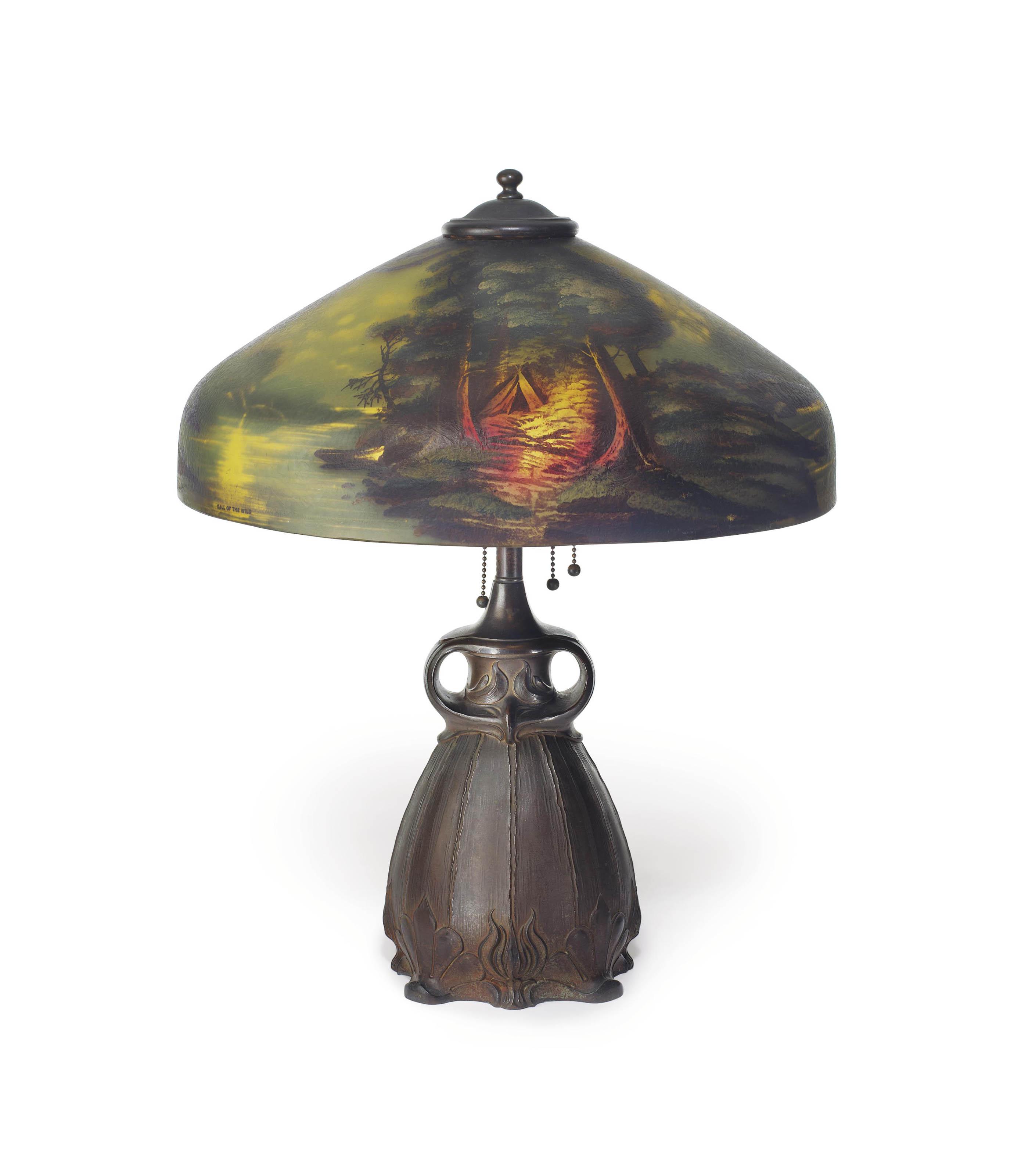 PITTSBURGH LAMP, BRASS & GLASS