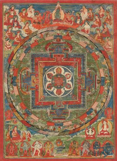 A thangka of Red Chakrasamvara