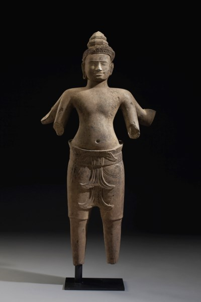 An important sandstone figure